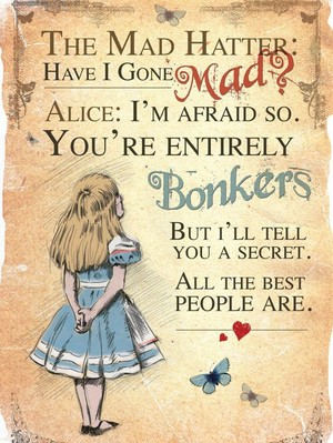 Alice in Wonderland kutipan 💛