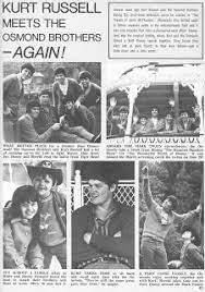 Article Pertaining To Kurt Russell And The Osmonds