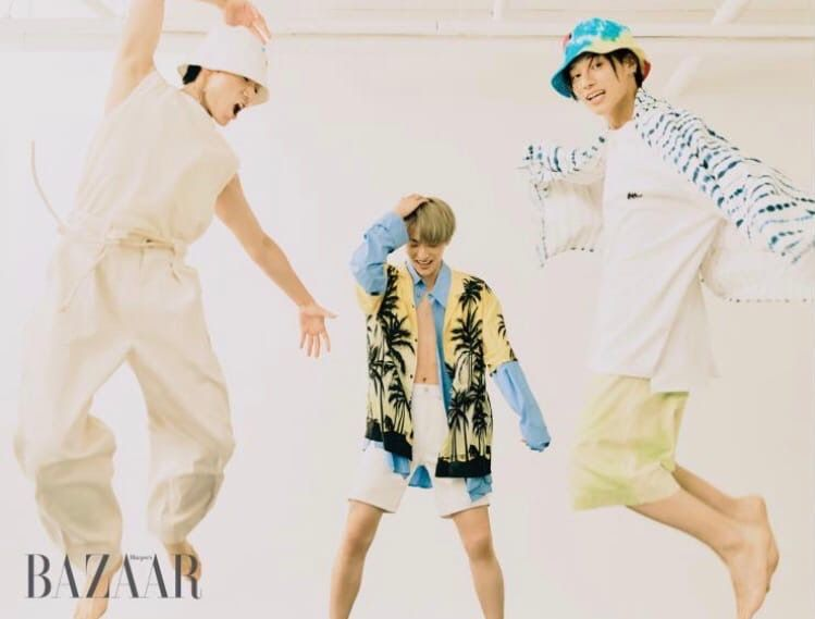 Ateez for Harper's Bazaar