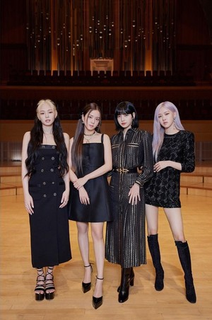BLACKPINK How You Like That Press Conference outfit