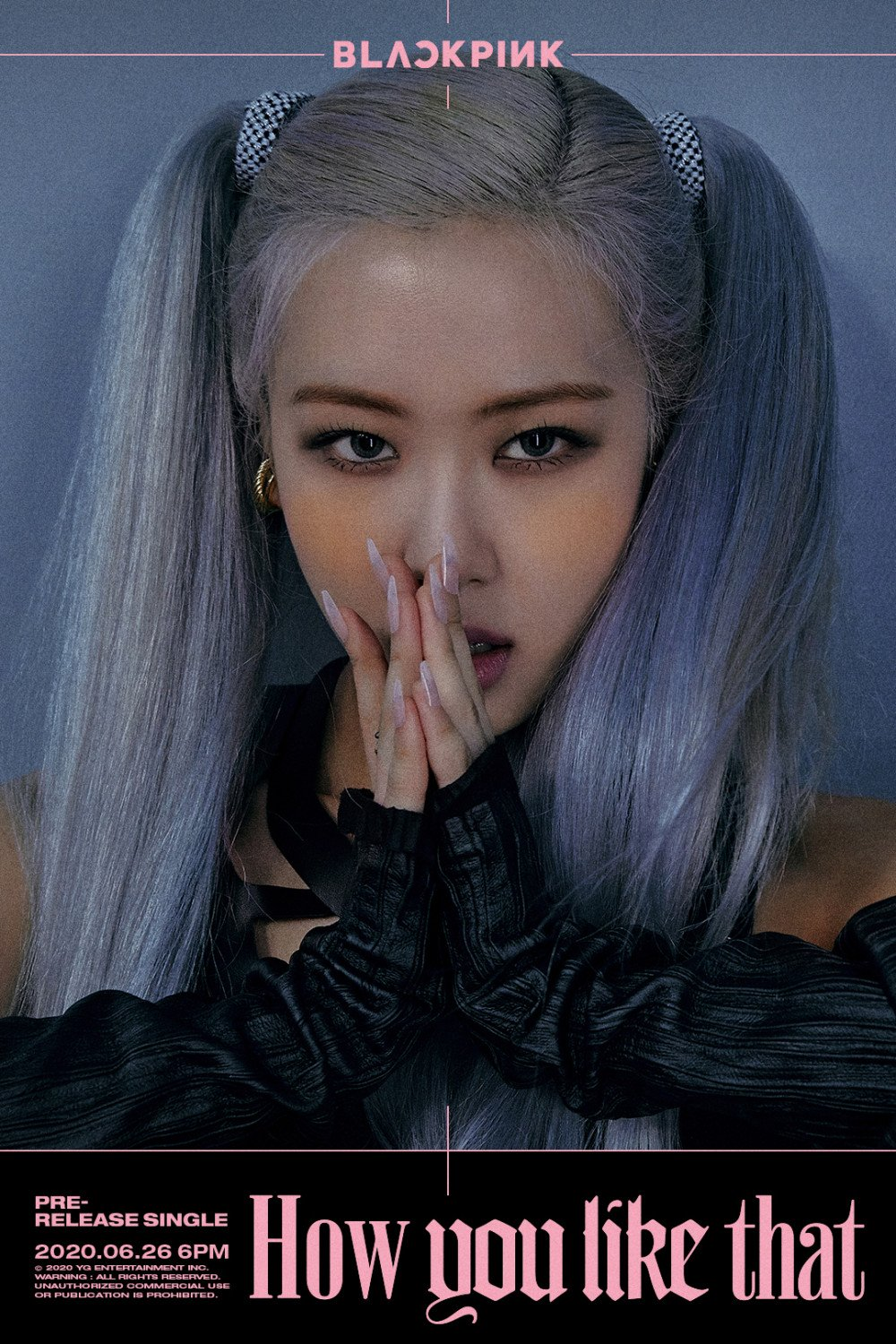 BLACKPINK girls are poised to kill with a stare in 2nd 'How You Like That' title posters