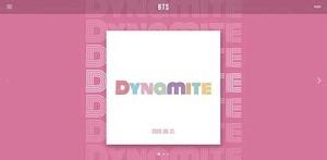 "बी टी एस Comeback ""Dynamite"""
