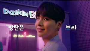 BTS x Baskin Robbins