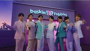 बी टी एस x Baskin Robbins