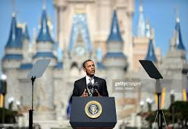 Barack Obama Disney World 2012