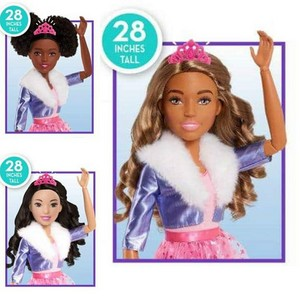 Barbie: Princess Adventure - 28 Inch Dolls