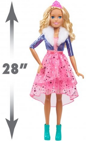 Barbie: Princess Adventure - 28 Inch búp bê