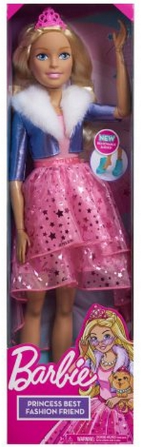 Barbie: Princess Adventure - 28 Inch 玩偶 in Box