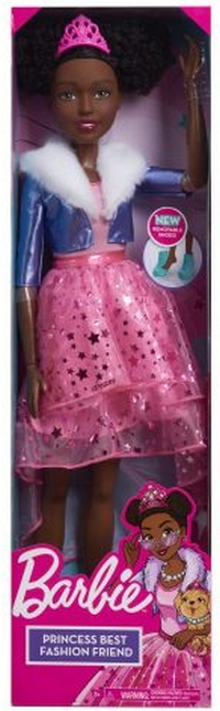 Barbie: Princess Adventure - 28 Inch boneka in Box