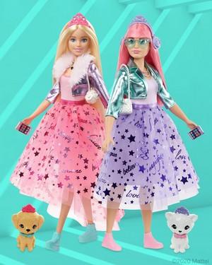 Barbie Princess Adventure - Barbie & gänseblümchen, daisy Puppen
