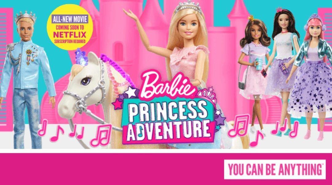 Barbie: Princess Adventure - Promo Banner