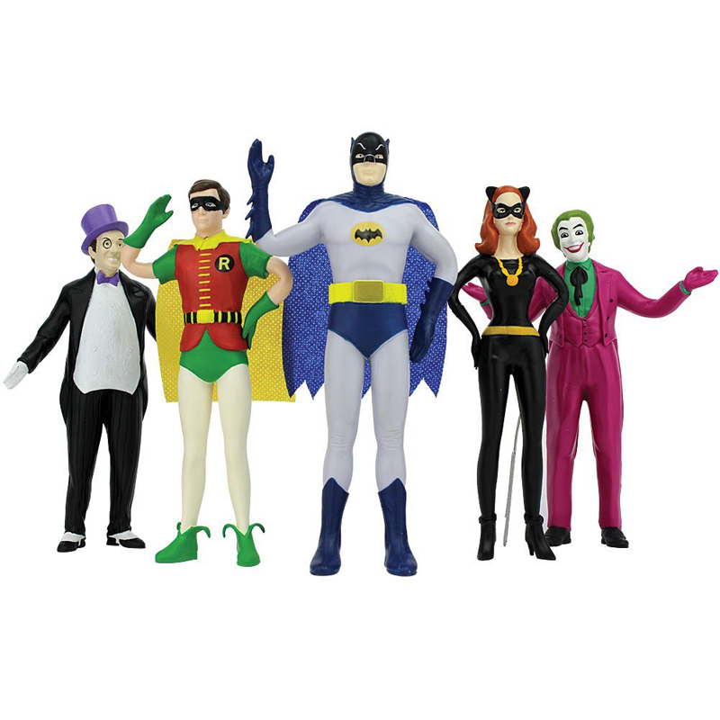 Bendable Batman Toys Based On the 60's Show
