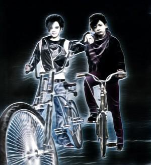 Bill Kaulitz and Jules Sitruk