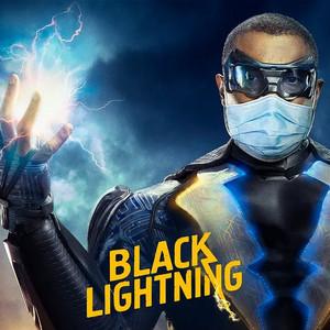 Black Lightning (Jefferson Pierce) Go Pro-Mask social distancing fashion