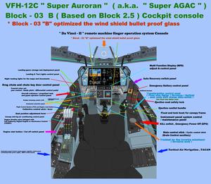 Block-03B console VFH-12C Super Auroran