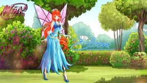 Bloom in Medieval dress