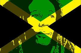 Bob Marley Jamaican Flag Image