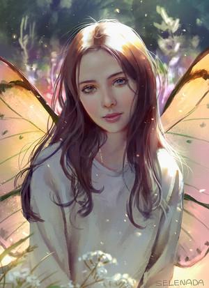 con bướm, bướm Girl