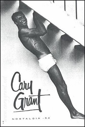 Cary Grant workout ad