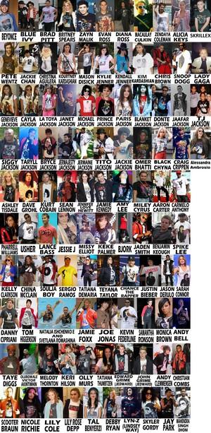 célébrités Rocking Michael Jackson T chemise 2020