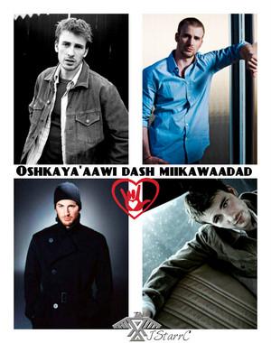Chris Evans -Oshkaya'aawi dash miikawaadad