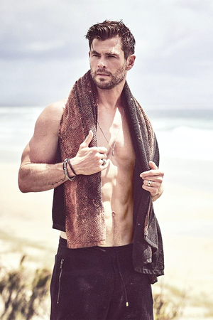 Chris Hemsworth || GQ Australia - May-June 2020 || photographed oleh Matthew Brookes