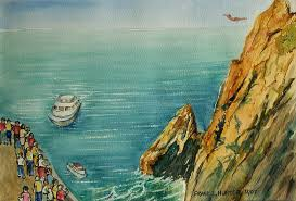 Cliff Diving In Acapulco