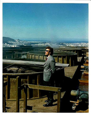 Clint as Dirty Harry Callahan    Behind the scenes