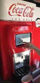 Computerized Coco Cola Beverage Dispenser Machine