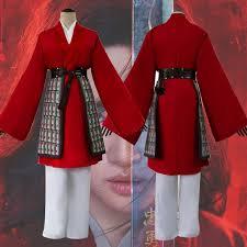 Costume 2020 Disney Film Mulan