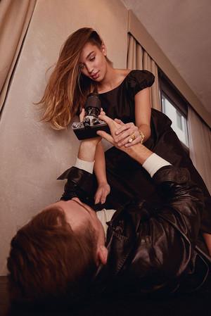 Dacre Montgomery and Liv Pollock - Harper's Bazaar Kazakhstan Photoshoot - 2020