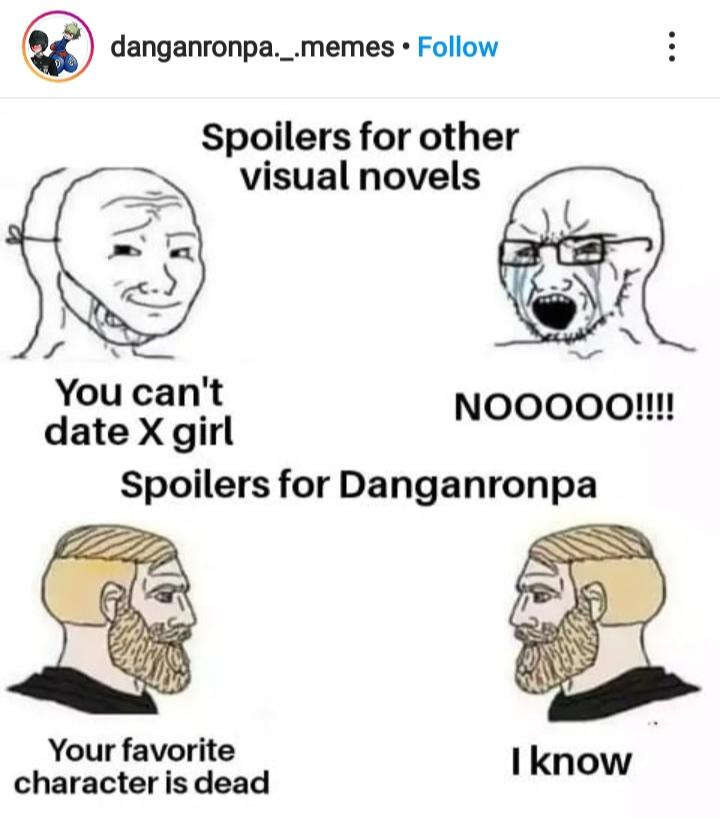 Danganronpa meme