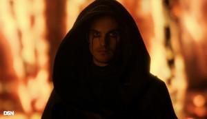 "Daniel Sharman as The Weeping Monk in Cursed - ""Nimue"""