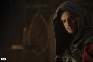 "Daniel Sharman as The Weeping Monk in Cursed - ""The Sacrifice"""