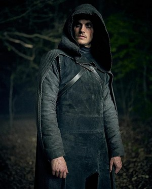 Daniel Sharman as The Weeping Monk in Cursed - First Look