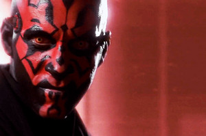 "Darth Maul -""You May Think I Am Evil. I Am Not. I Am Efficient."""