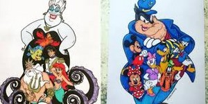Disney Heroes And Villains