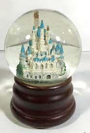 Disney Magic Kingdom Snow Globe