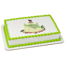 Disney Princess Tiana Sheet Cake