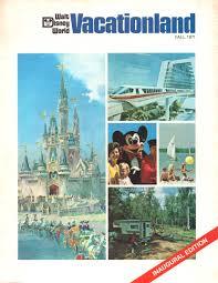 ディズニー Vacationland Flyer Inaugural Edition