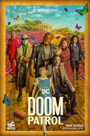 Doom Patrol - season 2 posters