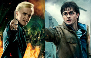 Draco Malfoy and Harry Potter