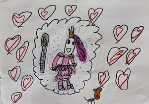 Drawing for Sarah