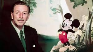 Walt disney And Mickey rato