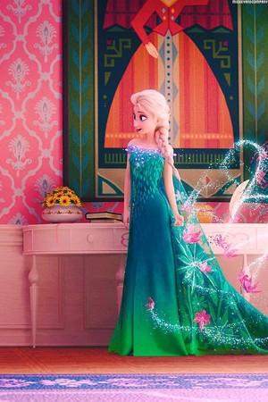 Elsa in nagyelo Fever