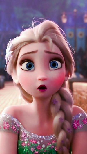 Elsa in La Reine des Neiges Fever