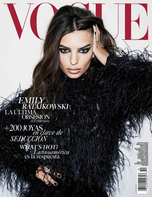Emily Ratajkowski for Vogue Mexico [October 2018 issue]