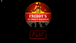 Freddy's Ultimate Roleplay Main Menu (Roblox)