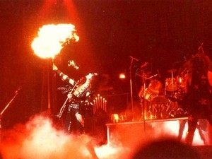 Gene ~Albany, New York...August 9, 1975 (Dressed to Kill Tour)