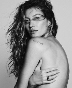 Gisele covers Elle US Conservation Issue [July 2019]